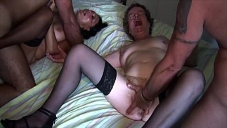 Mature wife submissive and humiliated! Fucked with squirt